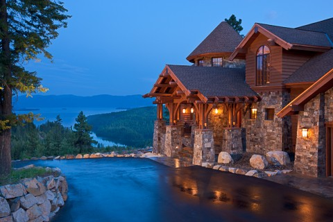 Mountain Lake Home