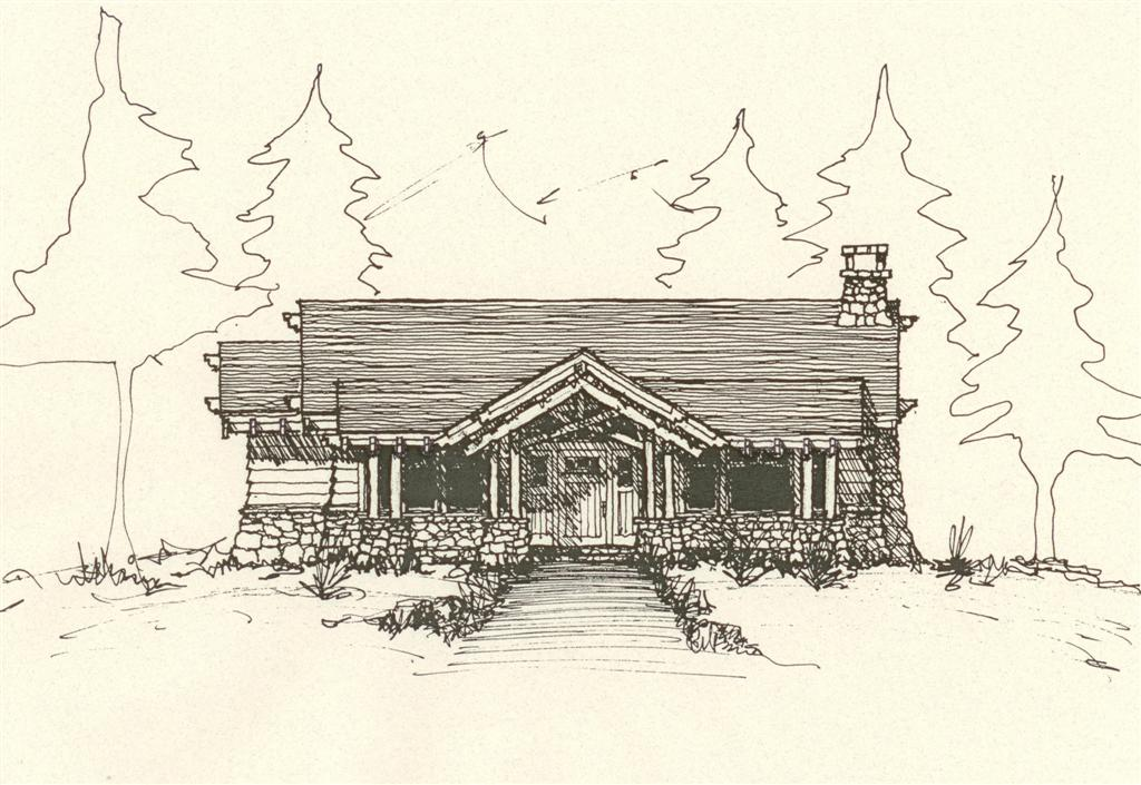 Hendricks architecture mountain architects hendricks Cabin drawings