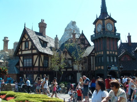 This Bavarian Village in Fantasyland houses Peter Pan's Flight.