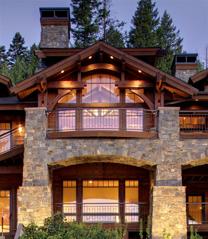 Mountain Home Mountain Architects Hendricks