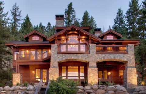 Lake Pend Oreille Mountain Architects Hendricks
