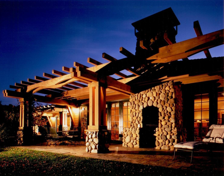 Patios Mountain Architects Hendricks Architecture Idaho