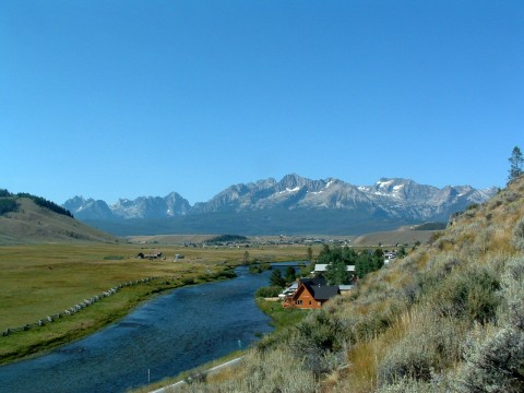 Lower Stanley Sawtooth Mountains