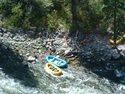 South Fork Payette River Rafting